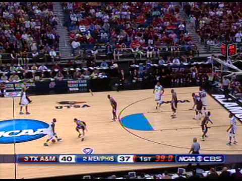 2007 NCAA Basketball Regional Semi Finals - Texas A&M vs Memphis