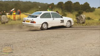 DiRT Rally Drifts @ Germany track - with Ford Sierra RS500 Cosworth!