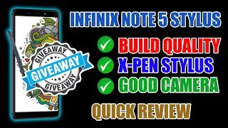 Giveaway, Infinix Note 5 Stylus, 15000 INR KA Stylus Phone, You Save 55000 INR On This Phone