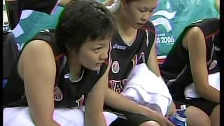 日本VS韓国 女子バスケ2006アジアカップ3位決定戦 3Qまで