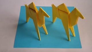 как сделать верблюда оригами