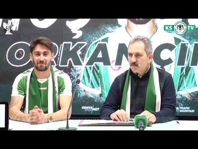 Orkan Çınar Atiker Konyaspor'umuzda!