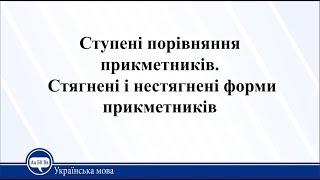 Урок 9. Українська мова 11 клас