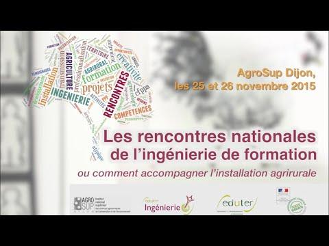 Rencontres nationales de l'ingenierie publique