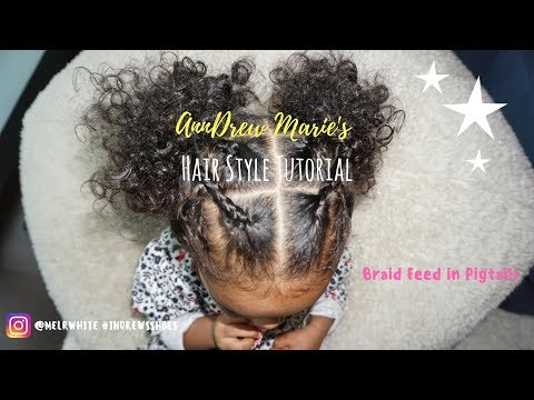 Cute Easy Curly Hair Toddler Hairstyle