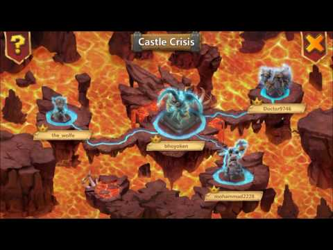 Castle Clash Castle Crisis : Archdemon! Druid Returns!