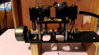 moteur a vapeur 2 cylindres