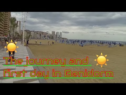 The journey and first day in Benidorm 2015 (Vlog #131)