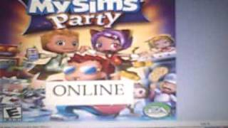 Online- My Sims Party (wii)