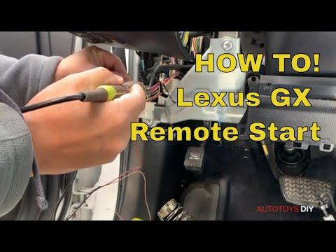 How to! LEXUS GX REMOTE START - Full installation of iDatalink Remote Start