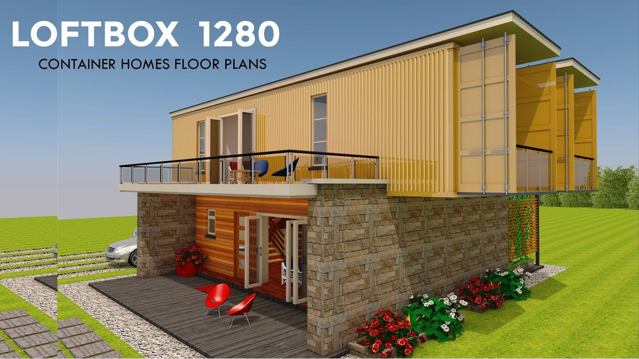 Delightful Shipping Container HOMES PLANS And MODULAR PREFAB Design Ideas | LOFTBOX  1280