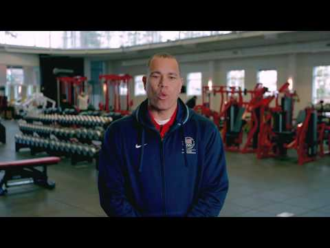 Tour Team USA's Olympic Training Center sponsored by 24 Hour Fitness