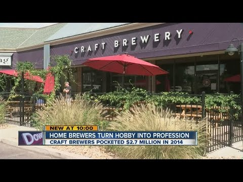 Home brewers turn hobby into profession