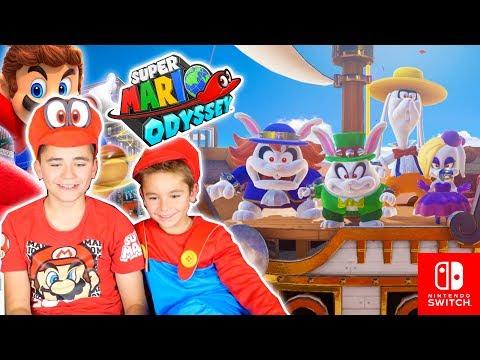 Swan & Néo Testent SUPER MARIO ODYSSEY - Nintendo Switch - Partie 2/2