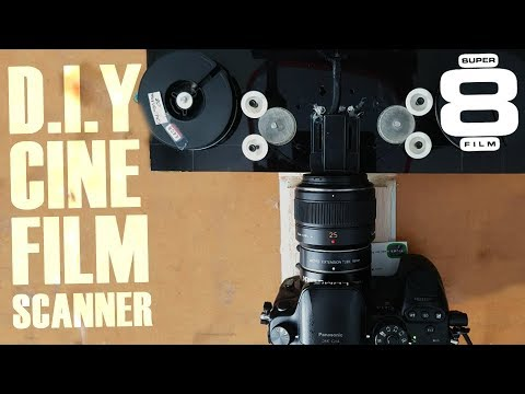 FIRST REVEAL! DIY Super8 cine film scanner project