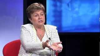 Interview with Kristalina Georgieva, EU Humanitarian Aid Commissioner