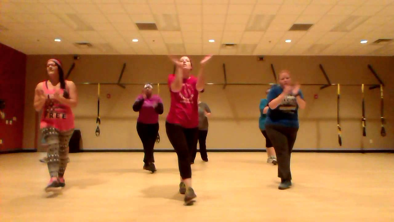 All I Want For Christmas Zumba Routine Youtube