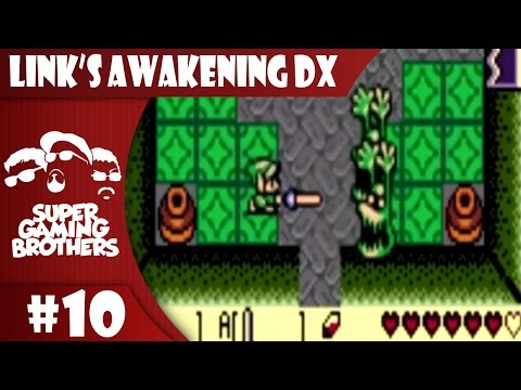 SGB Play: Link's Awakening DX - Part 10 | Sans & Papyrus Before Undertale
