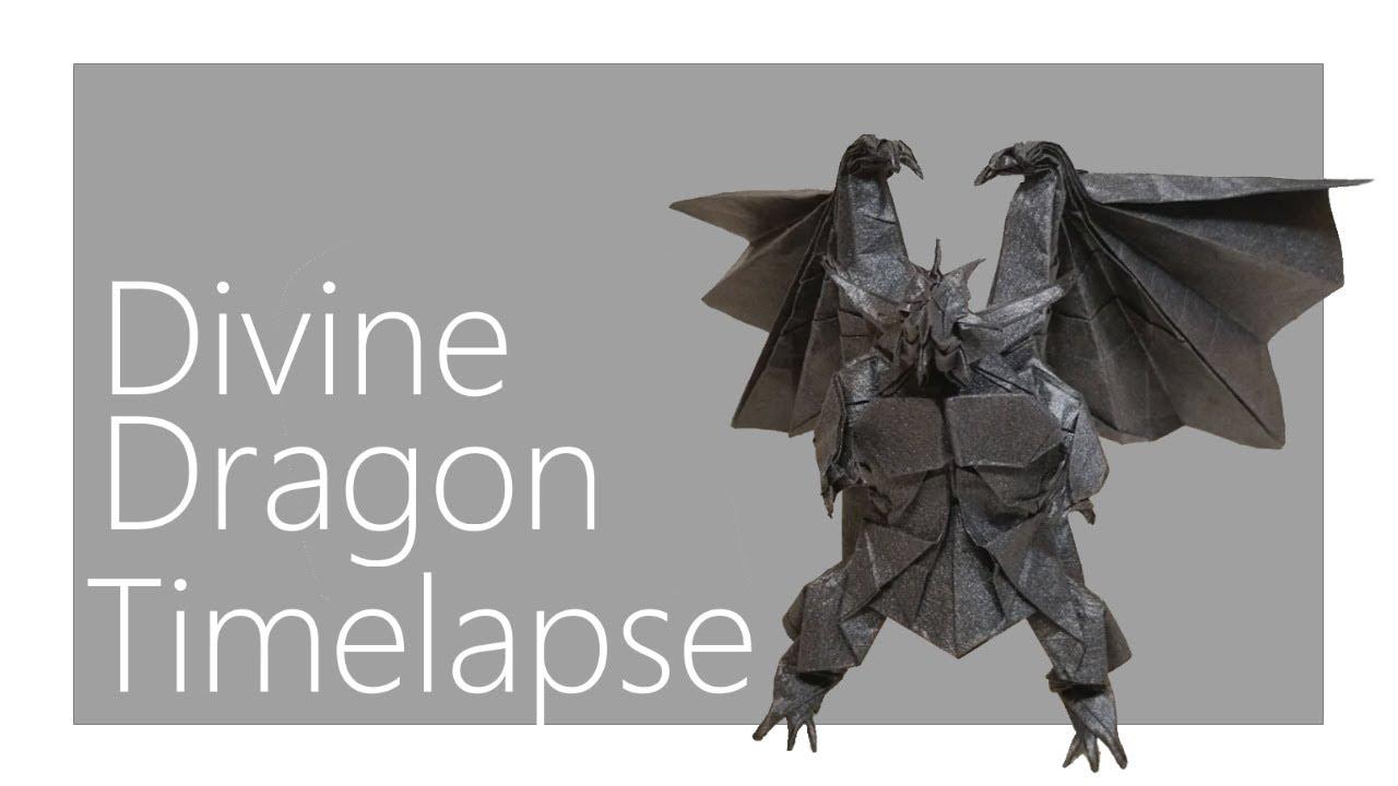 Divine Dragon Origami Timelapse Satoshi Kamiya