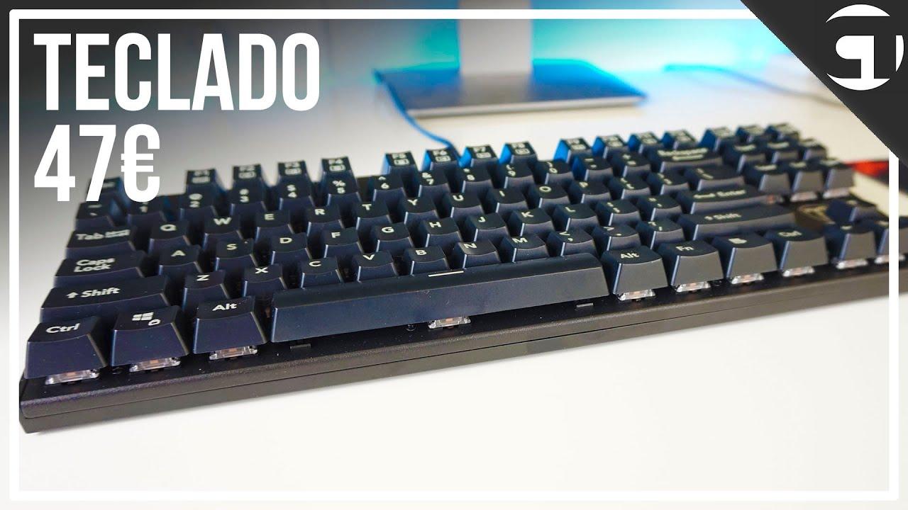 TECLADO MECÁNICO ULTRA BARATO ~ VICTSING I-500 / TOMOKO MMC023 ~ REVIEW