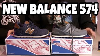 New Balance 574 Unboxing Recensione / Review ITA