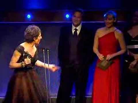 Tamsin Greig Olivier Awards 2007