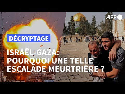 Israël-Gaza: retour sur les raisons de l'embrasement   AFP