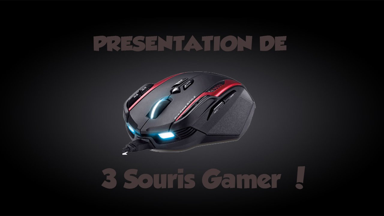 pr sentation de 3 souris gamer pas ch re funnycat tv. Black Bedroom Furniture Sets. Home Design Ideas