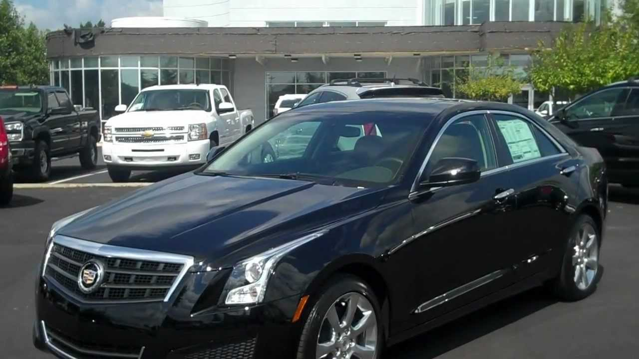 2013 Cadillac ATS Black Standard model, Burns Cadillac, Rock Hill SC