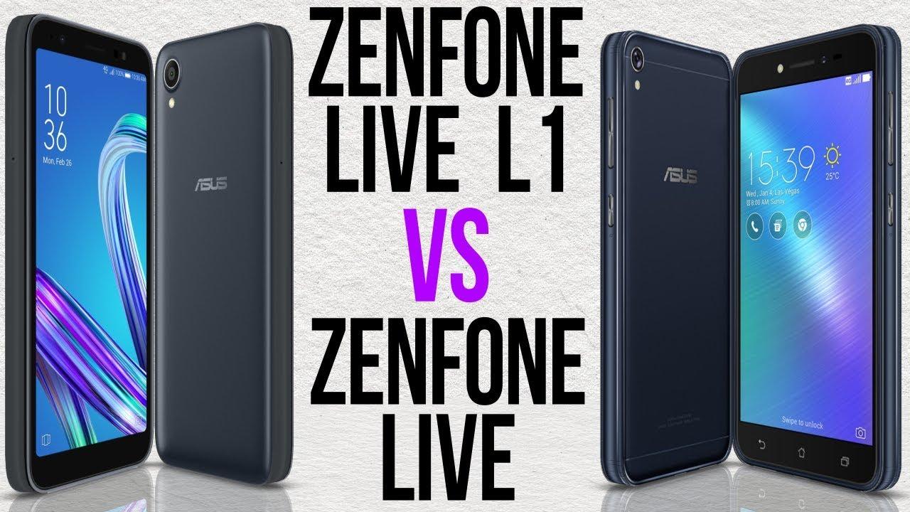 524a29f7e06 Zenfone Live L1 vs Zenfone Live (Comparativo) by fone-se