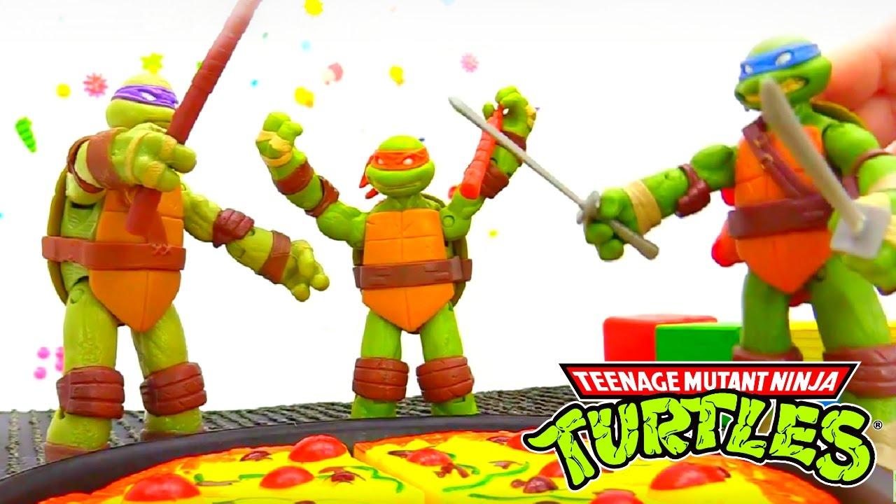 Teenage Mutant Ninja Turtles Toys For Kids Youtube
