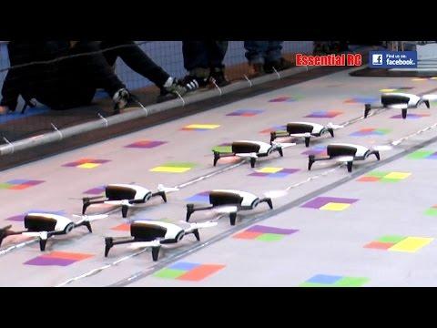 DANCING Parrot Bebop 2 FPV DRONES: UK DRONE SHOW 2016