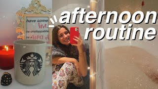 la mia afternoon routine | rilassante *winter vibes*