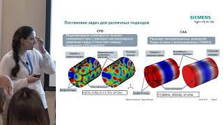 Субмоделирование для расчета акустических демпферов в камерах сгорания / О. Гальченко, LLC Siemens