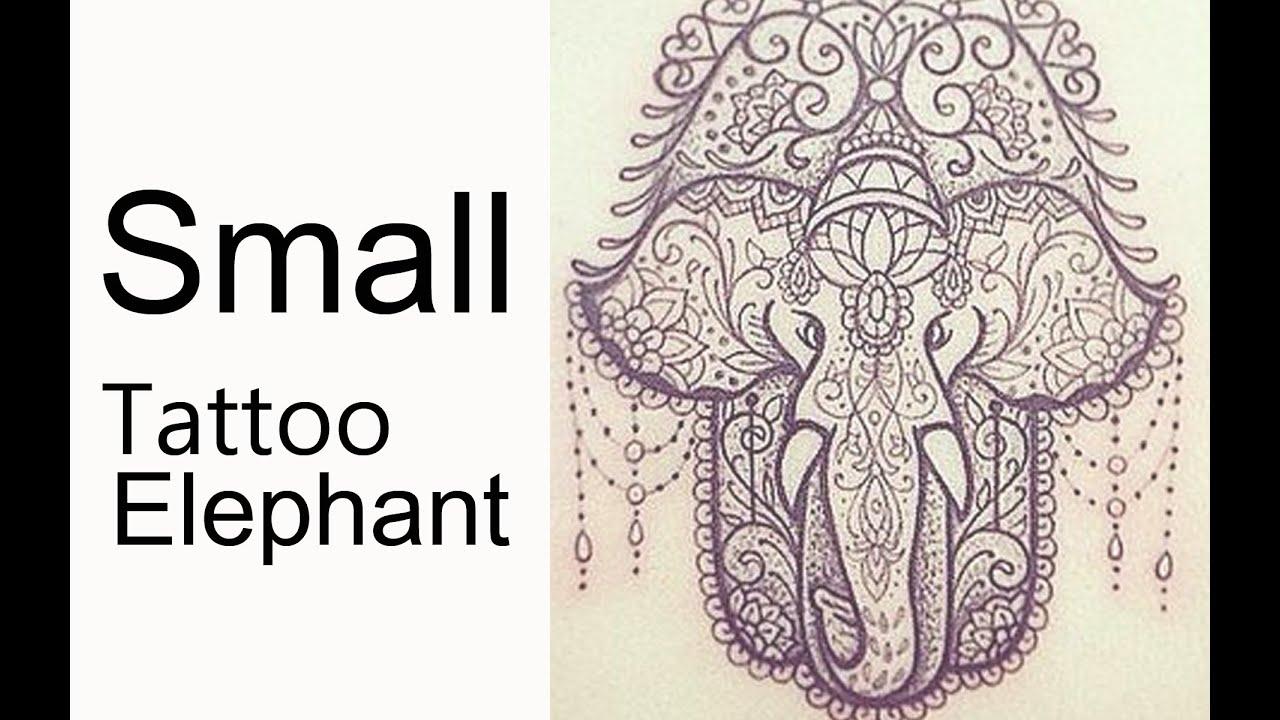 Small Elephant Tattoo Ideas Youtube