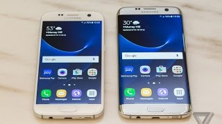 Samsung Galaxy S7 &S7 Edge Official Hands On Review !