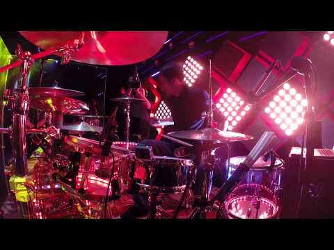 """""""Geronimo"""" Live Cover - Drums Only View with Drum Solos!"""