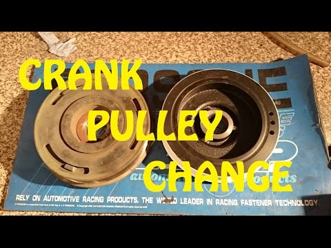 HOW TO: Crank Pulley Change