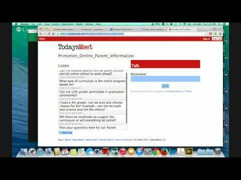 Princeton Online Academy Virtual Information Night