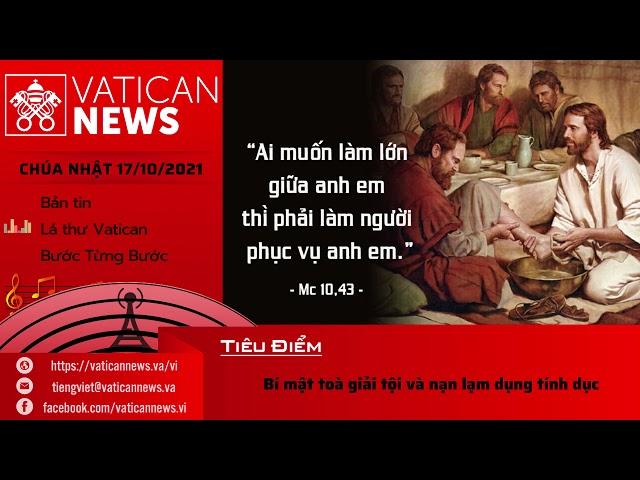 Radio Chúa Nhật 17/10/2021 - Vatican News Tiếng Việt