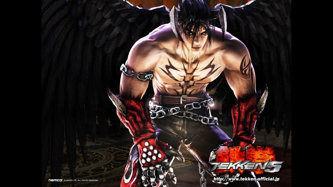 E24k S Tekken 5 Devil Jin Story Battle Playthrough Youtube