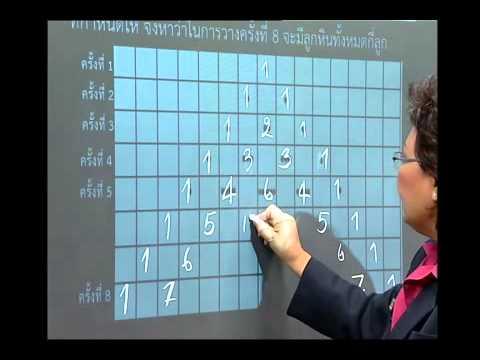 เฉลยข้อสอบ TME คณิตศาสตร์ ปี 2553 ชั้น ป.4 ข้อที่ 25