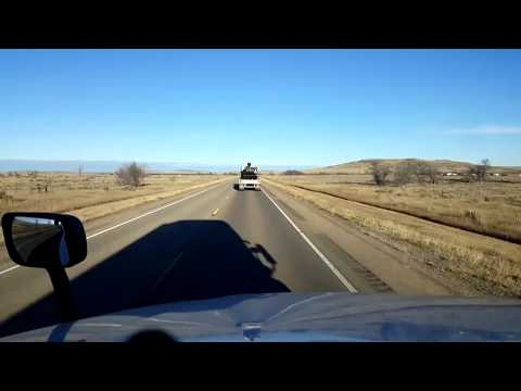 BigRigTravels LIVE! Wyoming/Montana border to Boyes, Montana US 212 West-Oct. 28, 2017
