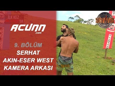 Serhat Akın ile Eser West Arasındaki Kavganın Kamera Arkası! | Bölüm 9 | Survivor 2017