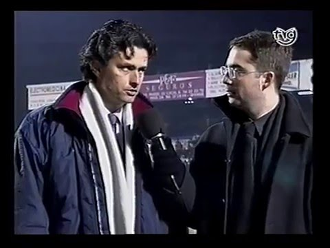 Jose Mourinho en Ourense Copa del Rey 2000/2001