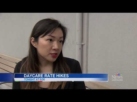 Daycare Rate Hike