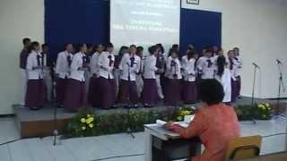 Paduan Suara - Tul Jaenak Modulasi 4 kali by SMP N 1 Cilacap