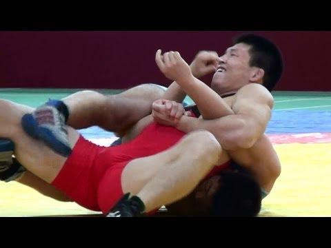 Freestyle Wrestling China 84kg - PIN