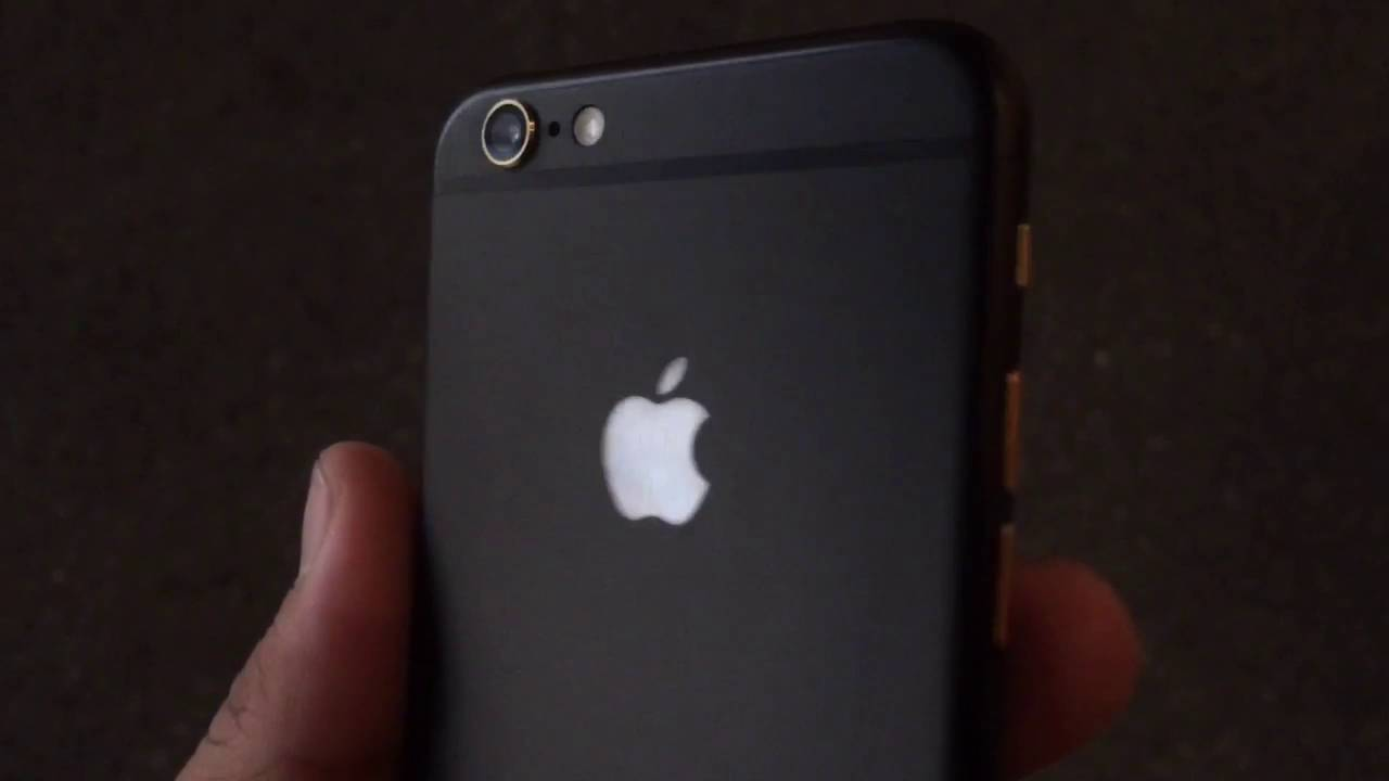 best website f0a54 916af Matte Black iPhone 6s with glowing Apple logo by @instafix_la