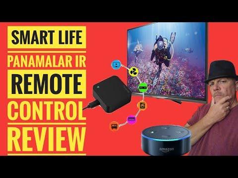 Panamalar IR Remote Control  Works With Smart Life Alexa Google Home